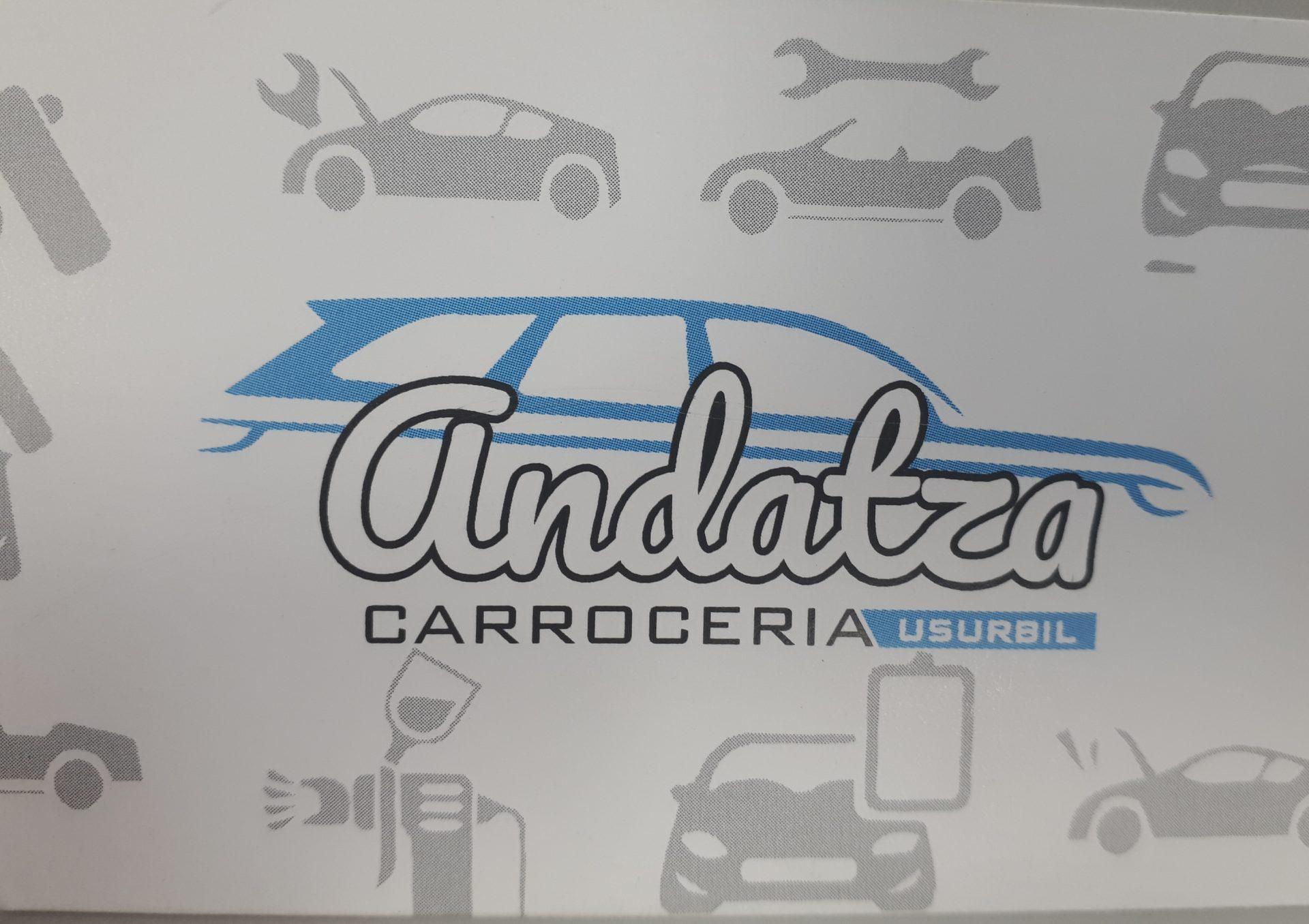 Logotipo Carrocería Andatza