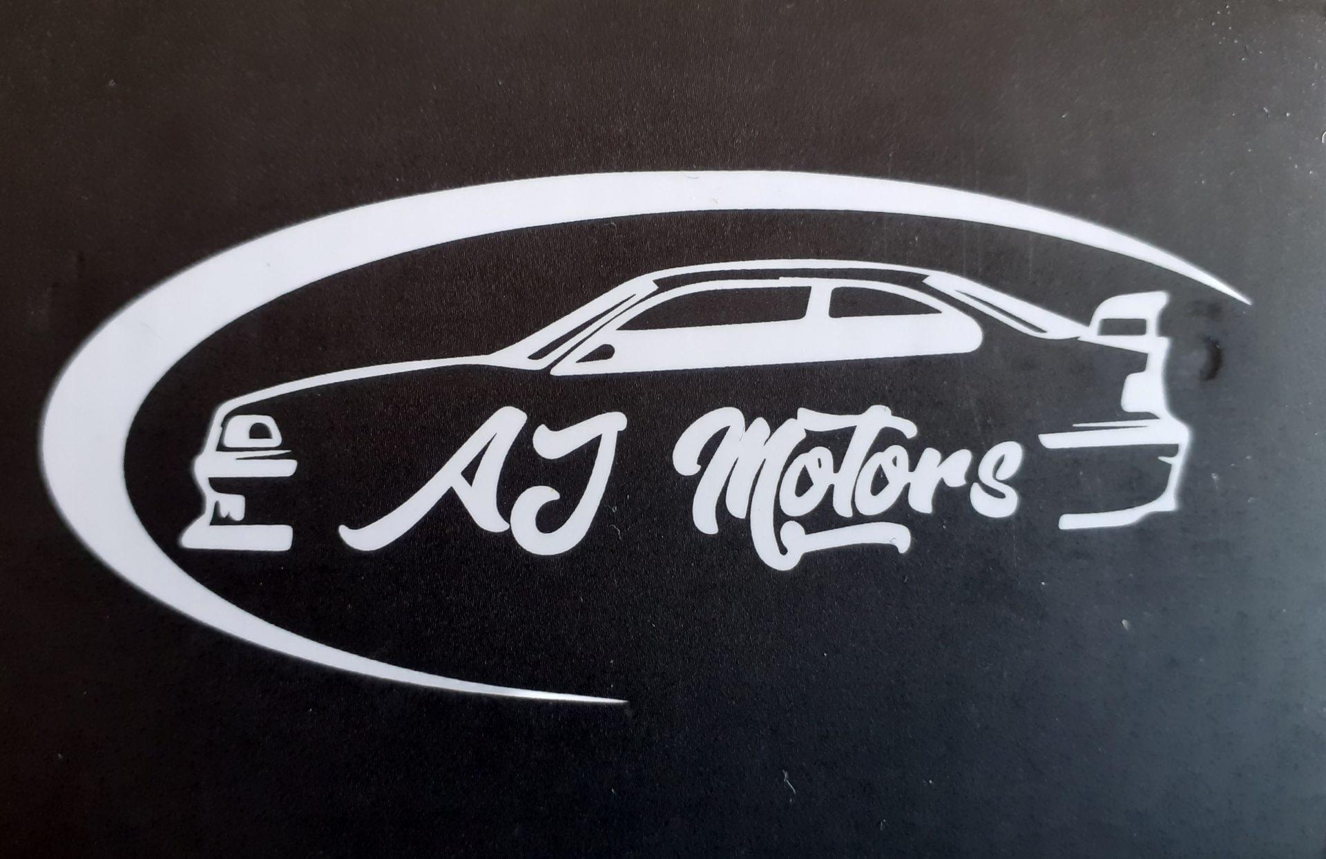 Logotipo AJ Motors