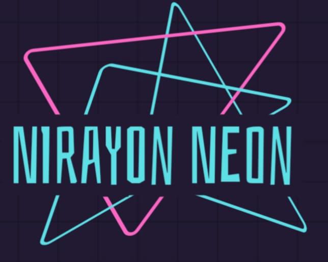 Logotipo NIRAYON NEON